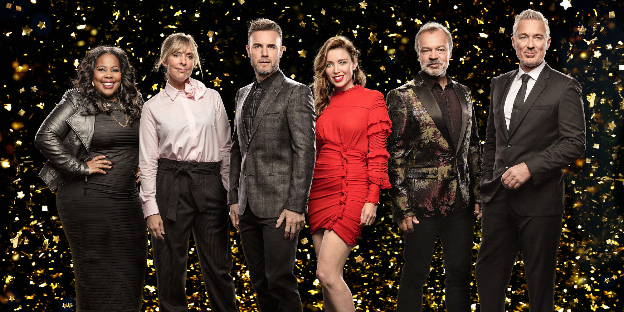 Cleaning ladies mrs overall on the graham norton show this week and -  Let It Shine Is Looking For Five Young Guys To Be Members Of A Boyband Who Will Be In A Touring Musical Featuring The Songs Of Take That